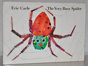 THE VERY BUSY SPIDER (SIGNED WITH A DRAWING)