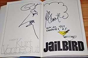 JAILBIRD (FLAT SIGNED WITH A TWO PAGE SELF PORTRAIT DRAWING)