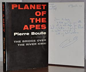 PLANET OF THE APES WITH SIGNED ORIGINAL LETTER FROM PIERRE BOULLES