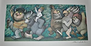MAURICE SENDAK ¿ SIGNED ORIGINAL POSTER, WHERE THE WILD THINGS ARE