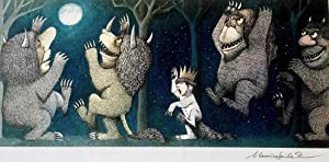 Maurice Sendak ¿SIGNED Original Poster, Where The Wild Things Are
