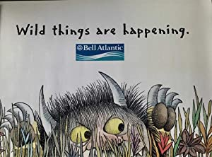 Maurice Sendak – FIVE FOOT Massive Commercial Street Banner for Bell Atlantic Campaign,Where The ...