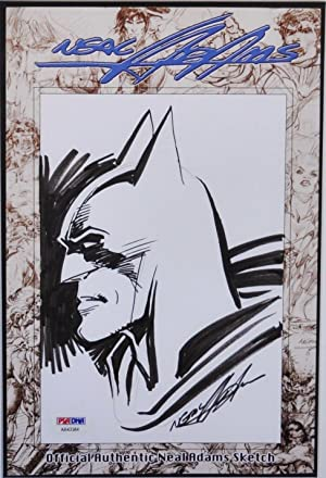 NEIL ADAMS ORIGINAL BATMAN DRAWING