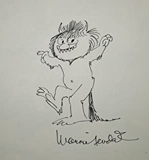 WHERE THE WILD THINGS ARE (Swiss German Printing W. FULL BODY DRAWING OF MOISHE)