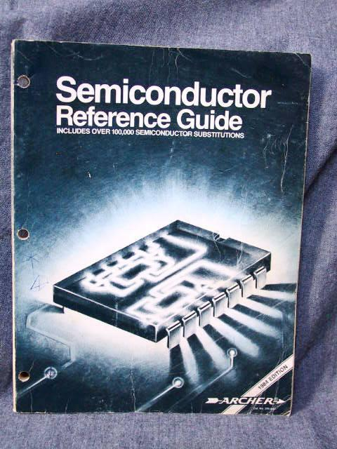 semiconductor reference guide abebooks rh abebooks co uk  radio shack semiconductor reference guide