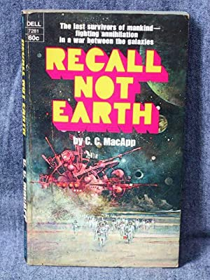Recall Not Earth: MacApp, C. C.