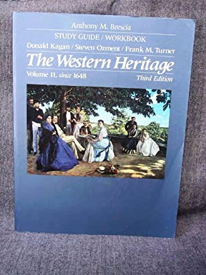 Western Heritage 2, since 1648 Study Guide/Workbook,: Brescia, Anthony M.
