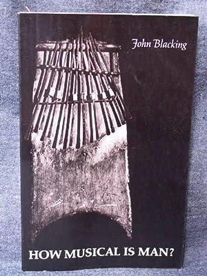 John Danz Lectures 6 How Musical is Man?, The: Blacking, John