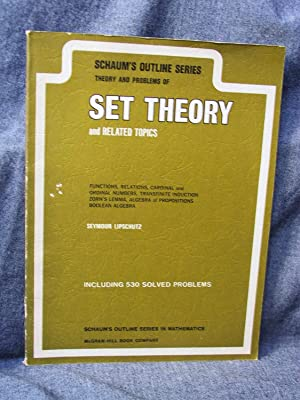 Schaum's Outline of Theory and Problems of: Lipschutz, Seymour