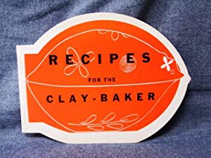 Recipes for the Clay-Baker: Just, Gisele (Recipes