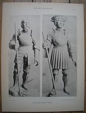 MATÉRIAUX & DOCUMENTS d'ART DÉCORATIF - MONUMENTS: Jules ROUSSEL