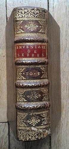 Inventaire Général de l'HISTOIRE de FRANCE -: Jean de SERRES