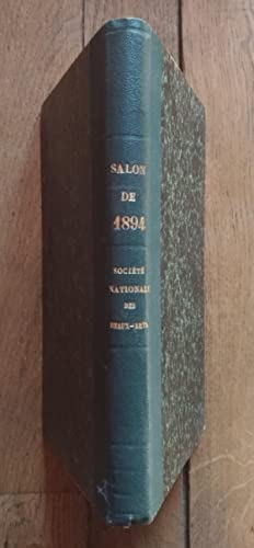 SALON de 1894 - Catalogue Illustré des