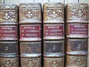 Mémoires de l'ACADEMIE ROYALE de CHIRURGIE