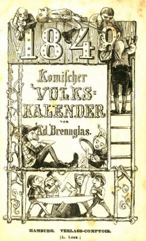 Komischer Volkskalender für 1848. Hrsg. von Adolf