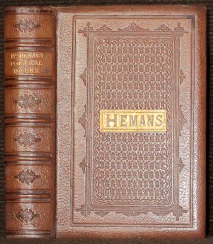 The Poetical Works of Mrs. Felicia Hemans.: Hemans, Felicia -