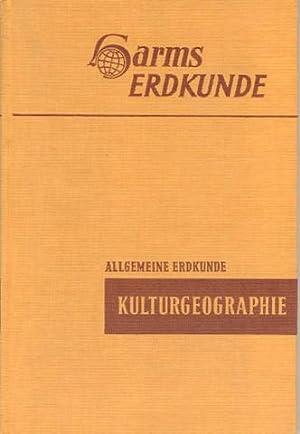 Kulturgeographie. Bearbeitet von Julius Wagner.