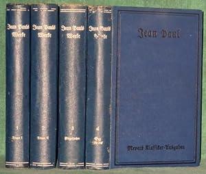 Jean Pauls Werke. Hrsg. [und mit Vorwort und »Jean Pauls Leben und Werke«] von Rudolf Wustmann. ...