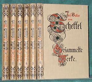 Gesammelte Werke in sechs Bänden. Mit einer biographischen Einleitung von Johannes Proelß.: ...