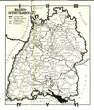 Baden-Württemberg. Hrsg. von Max Miller.