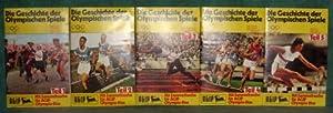 Die Geschichte der Olympischen Spiele. Teil 1-5 [komplett]. Hrsg. AGIP Aktiengesellschaft.: ...