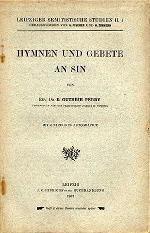 Hymnen und Gebete an Sin.: Sin - Guthrie Perry, E.: