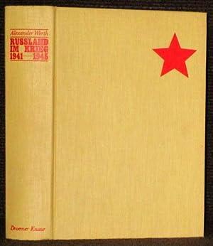 Russland im Krieg 1941-1945 [Russia at War]. Aus dem Englischen übertragen von Dieter Kiehl.: Werth...
