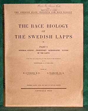 The Race Biology of the Swedish Lapps.: Schweden -