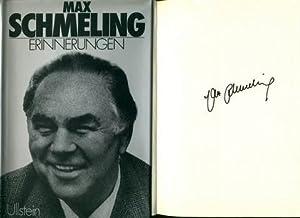Erinnerungen.: Schmeling, Max: