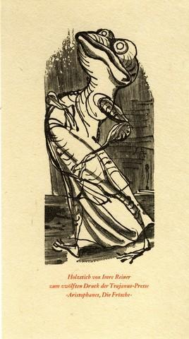 Rundbrief für Freunde moderner Buchkunst und Graphik. Nrn. 1-6 [von 23 der ersten Folge]. Wolfgang ...