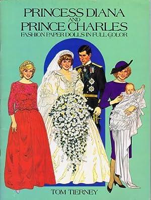 Princess Diana and Prince Charles. Fashion Paper: Diana, Princess of