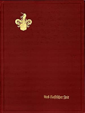 Aus klassischer Zeit. Scherenschnitte von Luise Duttenhofer. Hrsg. von Otto Güntter.: Duttenhofer, ...