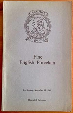 Catalogue of fine English porcelain of the: Christie's