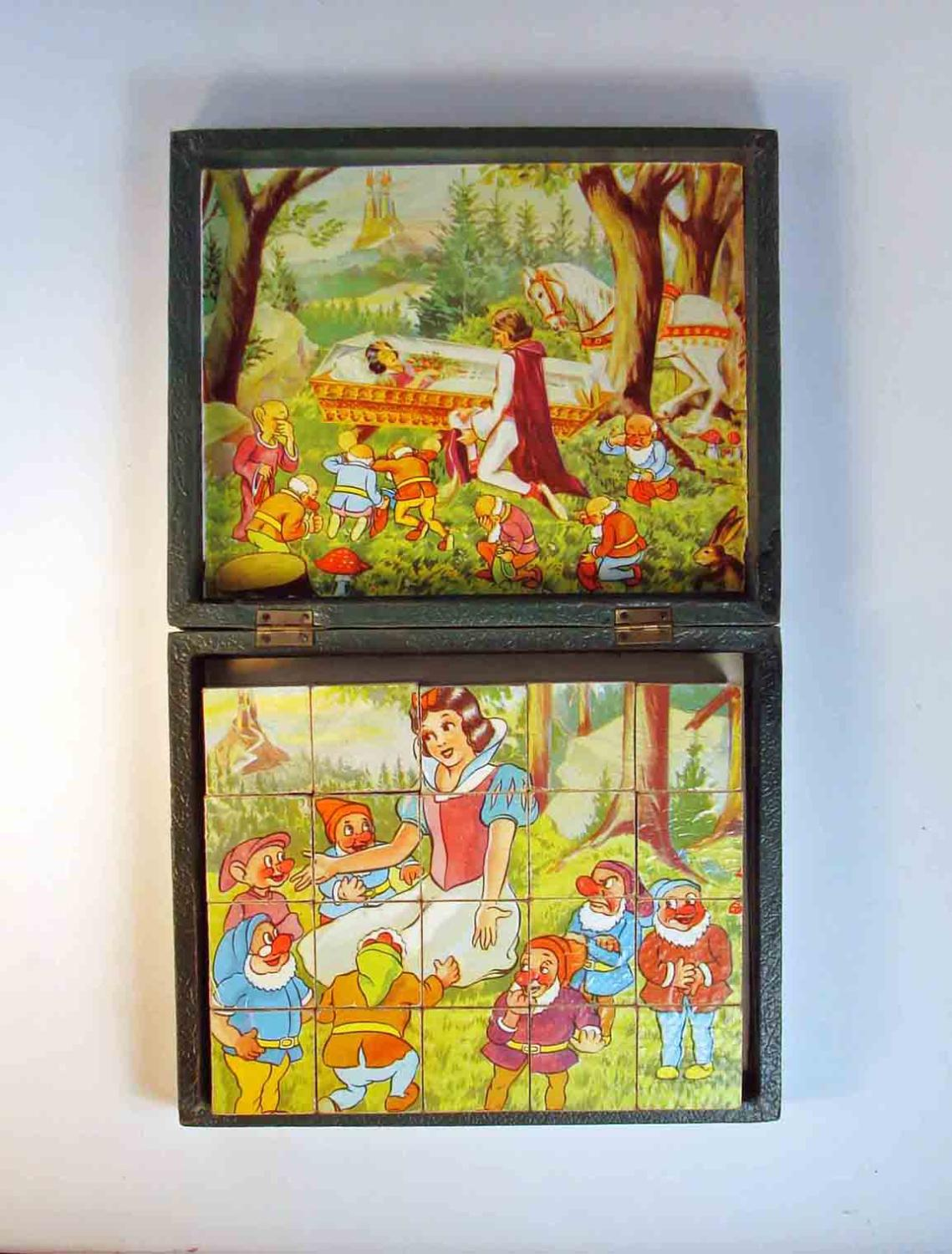 Snow White and the Seven Dwarfs Puzzle