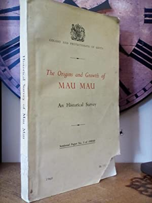 The Origins and Growth of Mau Mau: F. D. Corfield