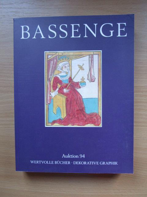 Dekorative Bücher bassenge auktion 94. wertvolle bücher dekorative graphuk von