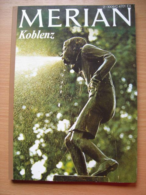 Koblenz Hoffmann & Campe Reiseführer - Merian Febr. 1978