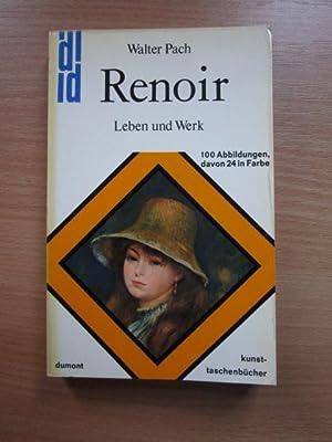 Auguste Renoir : Leben u. Werk.DuMont-Kunst-Taschenbücher ;: Pach, Walter und