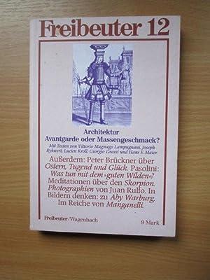 Freibeuter Nr. 12 1982. Vierteljahreszeitschrift für Kultur: Wagenbach, Klaus, Barbara