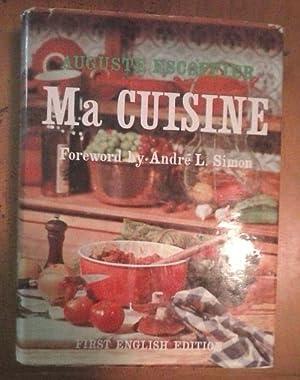 ma cuisine de a escoffier edition originale abebooks. Black Bedroom Furniture Sets. Home Design Ideas