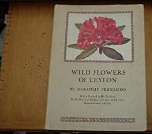 WILD FLOWERS of CEYLON