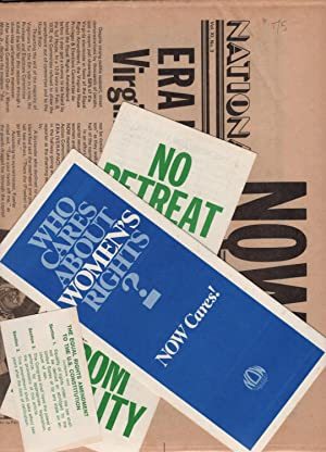 Two Issues of National Now Times, March 1978 and ERA Extra; with additional NOW Ephemera (Trifold ...