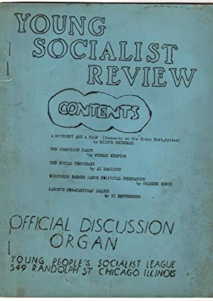 Young Socialist Review: Official Discussion Organ Young People's Socialist League