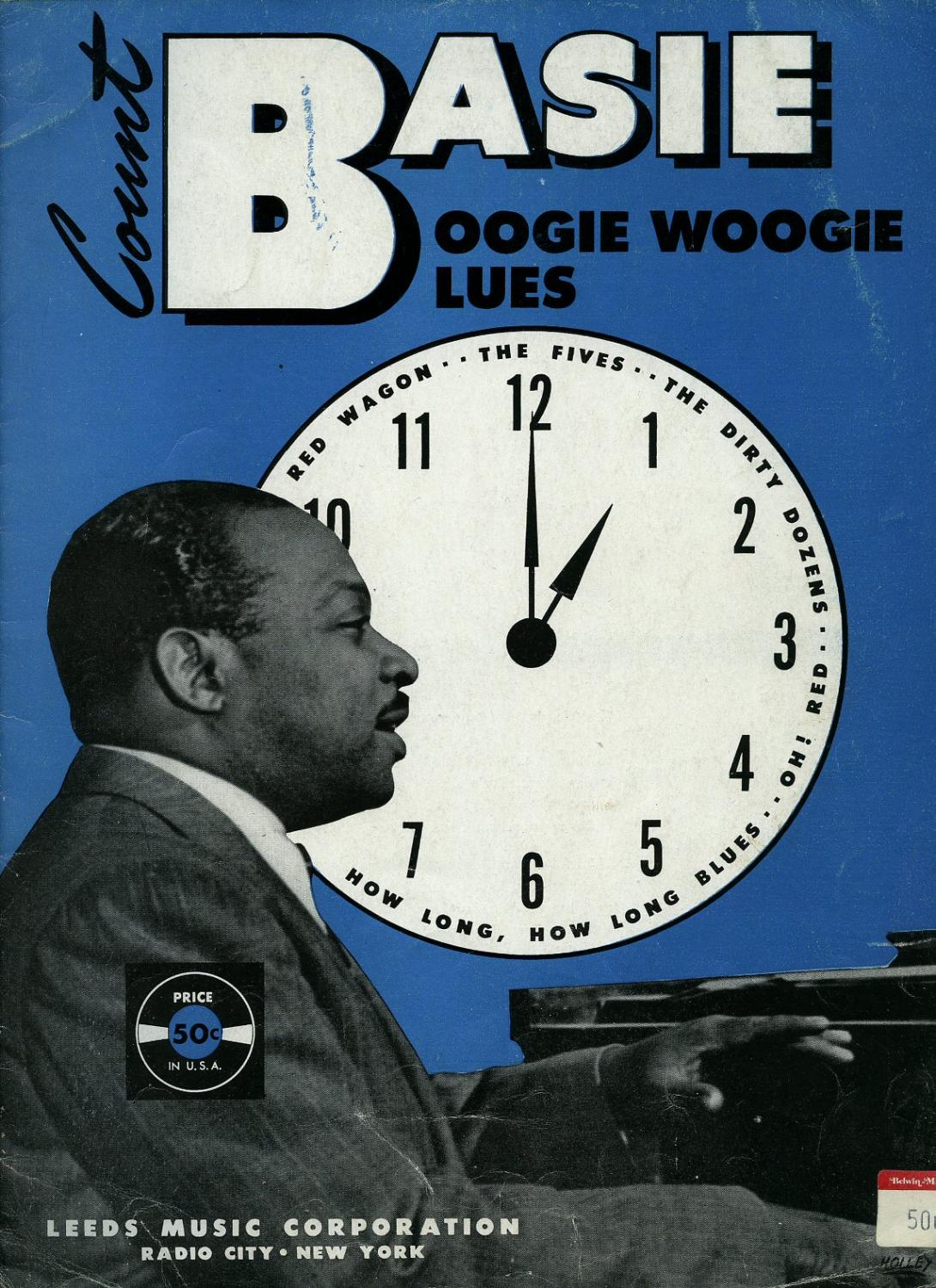 Count Basie Boogie Woogie Blues [Piano Sheet