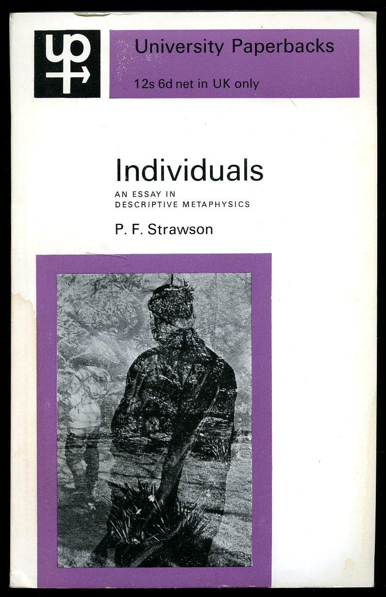 individuals by strawson abebooks