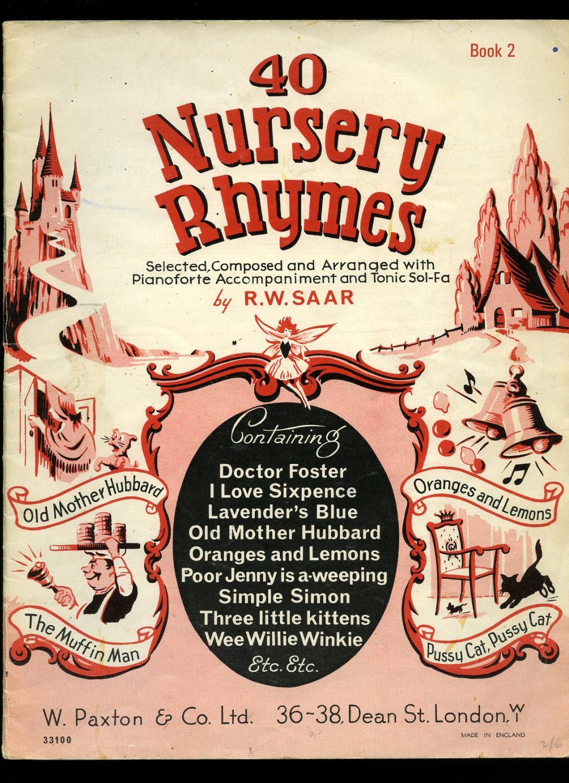 40 Nursery Rhymes