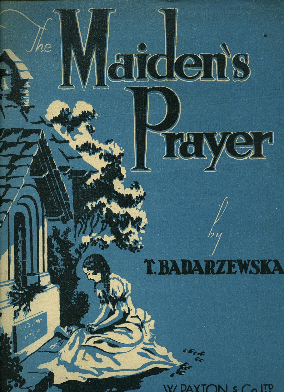 The Maiden's Prayer [La Priere d'Une Vierge]