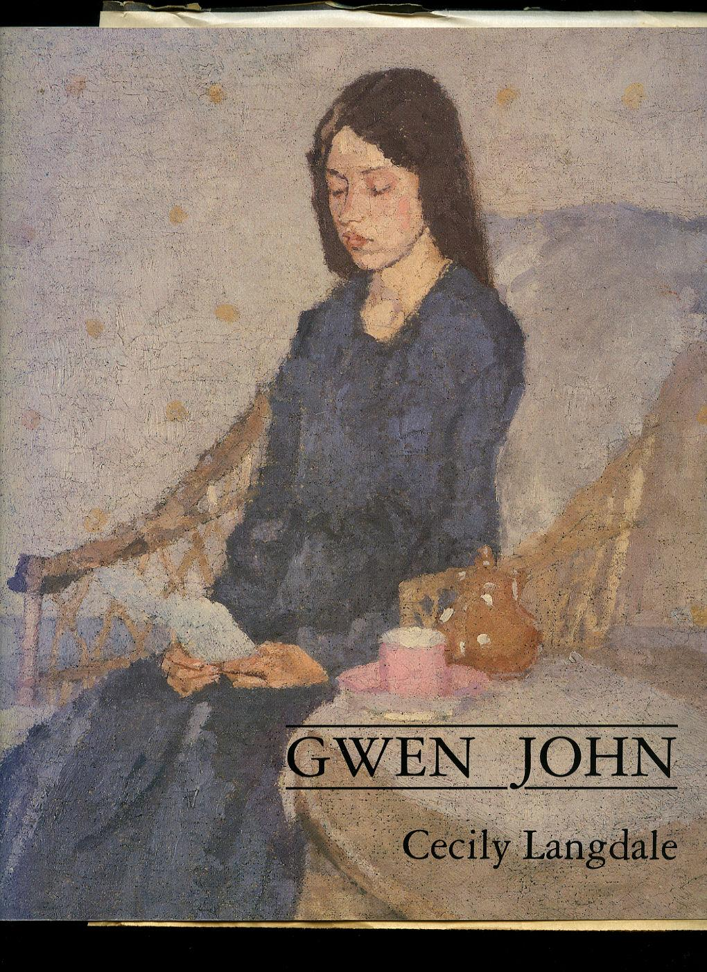 Gwen John | With a Catalogue Raisonné of the Paintings and a Selection of the Drawings - Langdale, Cecily [Gwendolen Mary John (22 June 1876 - 18 September 1939) was a Welsh artist who worked in France for most of her career. Her paintings, mainly portraits of anonymous female sitters, are rendered in a range of closely related tones. Although she was overshadowed during her lifetime by her brother Augustus John, her reputation has grown steadily since her death]. Squadron Leader John Eric Tipton DFC* (1918-2018) British officer served as a navigator with 40 Squadron, RAF in Great Britain and Malta, 1941-1942; served with 109 Squadron, Pathfinder Force, RAF in Great Britain, 1943-1944; served as Oboe (British aerial blind bombing system in World War II, based on radio transponder technology), ground controller in Netherlands, 1944-1945.