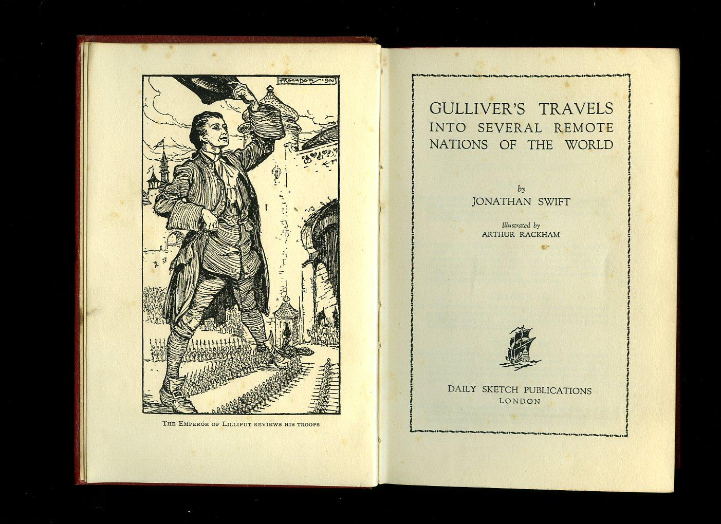 Gullivers Travels Into Several Remote Nations of the World - Illustrated by Arthur Rackham