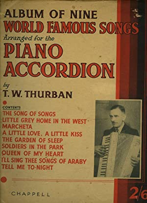 thurban t w - album of nine world famous songs arranged for the
